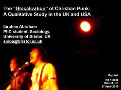 Glocalization Christian Punk