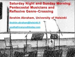 Pentecostal muscians genre crossing