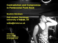 Pentecostal punk rock