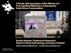 Public Witness Post-Apartheid Whiteness