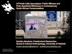 Public Witness Post-Apartheid Whiteness